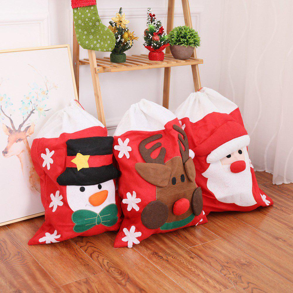 Discount Christmas Non-woven Gift Bag Cartoon Decorative Gift Bag AliExpress Ebay Hot Christmas Decorations