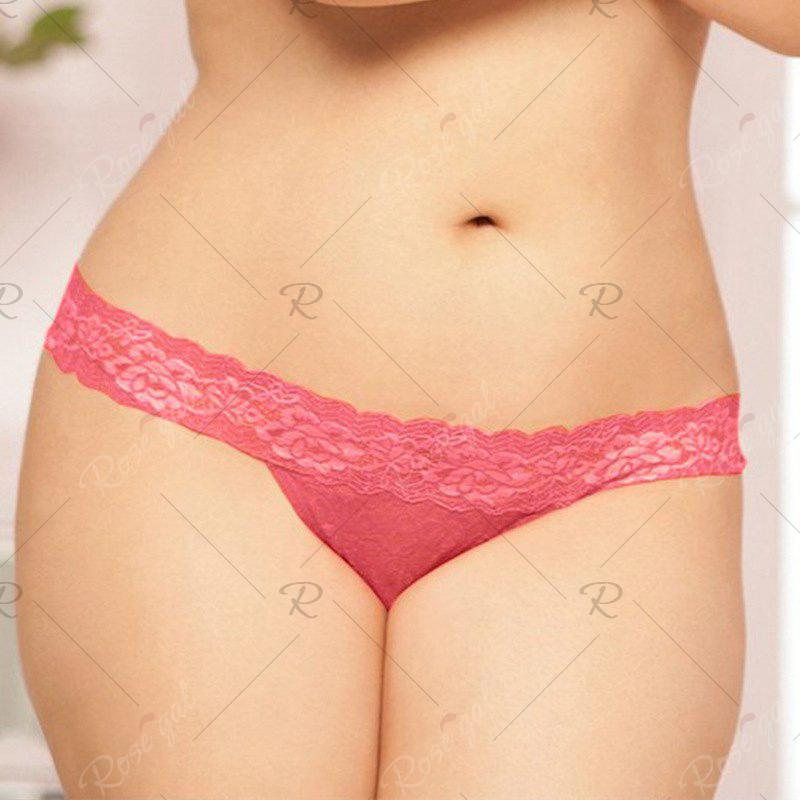 4505dc708cb1 Shop Europe And The United States Large Size Sexy Underwear Ladies Sexy  Transparent Temptation Lace Underwear