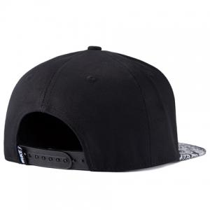 Stylish Hollow Out Alloy Embellished Arabesque Pattern Brim Baseball Cap For Men -