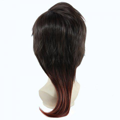 Store Two-Tone Ombre Fluffy Layered Natural Straight Vogue Long Dai Kurikara Cosplay Wig - OMBRE 1211#  Mobile