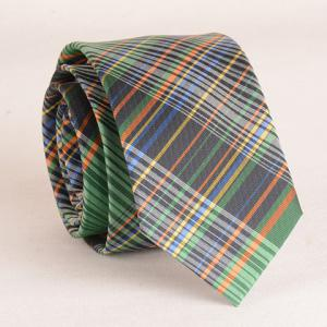Stylish Multicolor Plaid Pattern 6CM Width Tie For Men