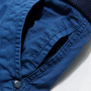 Casual Zip Fly Solid Color Multi-Pockets Cargo Shorts For Men -