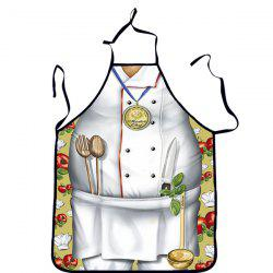Quality Creative Chef Pattern Printed Apron -
