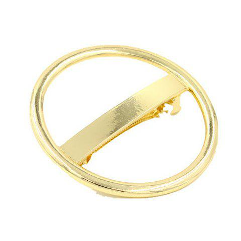 Shops Chic Solid Color Hollow Our Circular Shape Hairgrip For Women