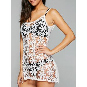 Spaghetti Strap Cut Out Asymmetrical Cover Ups for Swimsuits