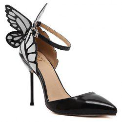 Stylish Butterfly and Two-Piece Design Pumps For Women -