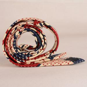 Stylish Star and Stripe Pattern Patchwork 5CM Width Tie For Men - COLORMIX
