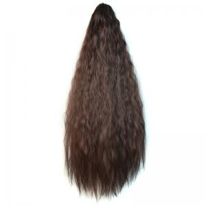 Fashion Heat Resistant Synthetic Long Corn Hot Ponytail For Women -