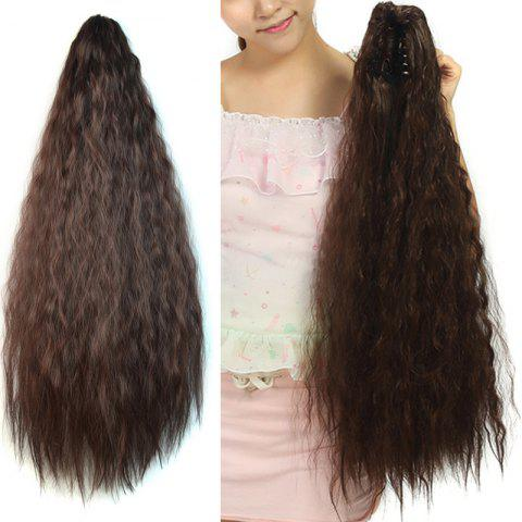 Affordable Fashion Heat Resistant Synthetic Long Corn Hot Ponytail For Women