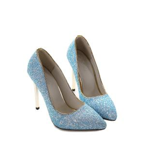 Sexy Sequins and Solid Color Design Pumps For Women -