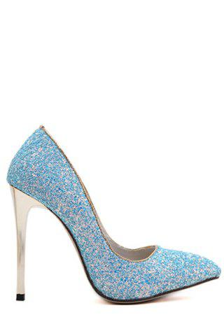 Store Sexy Sequins and Solid Color Design Pumps For Women