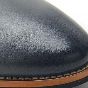 Stylish Embossing and PU Leather Design Casual Shoes For Men -