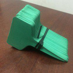 Quality 100PCS Solid Color T-Type Label Gardening Tool -