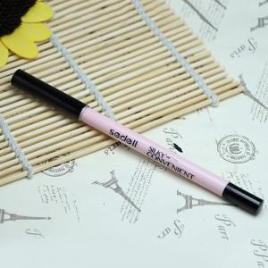 Stylish Silky Waterproof Smudge-Proof Black Eyeliner Gel Pencil -