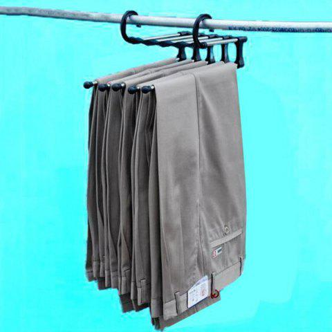 Trendy Practical Multifunction 5 in 1 Stainless Steel Tube Trousers Rack