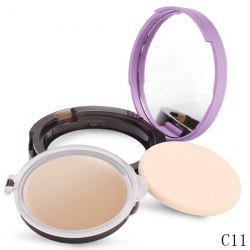 Stylish Whiten Moisturize Oil-Control Foundation Concealer With Mirror and Puff