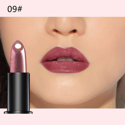 Discount Stylish 10 Colours Natural Red Wine Polyphenol Gel Filling Glossy Moisturizing Lipstick