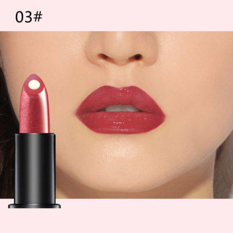 Online Stylish 10 Colours Natural Red Wine Polyphenol Gel Filling Glossy Moisturizing Lipstick