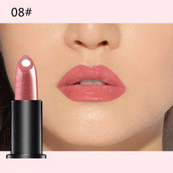 Stylish 10 Colours Natural Red Wine Polyphenol Gel Filling Glossy Moisturizing Lipstick -