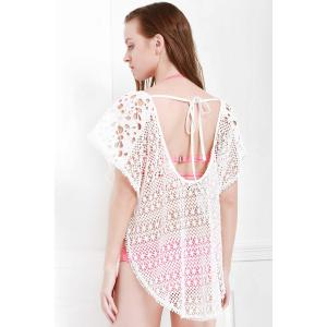 Hollow Out Crochet Cover Up Dress -