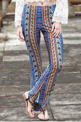 Stylish Border Print Bell Women's Pants