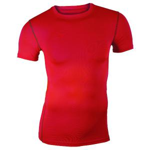 Pullover Round Collar Tights Quick-Dry Solid Color T-Shirt For Men