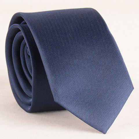 Discount Stylish Simple Cadet Blue 6CM Width Tie For Men