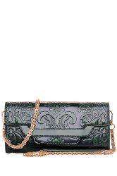 Ethnic Style Chains and Embossing Design Crossbody Bag For Women