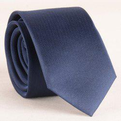 Stylish Simple Cadet Blue 6CM Width Tie For Men -