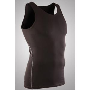 Slim Fit Pullover Dry Fit Solid Color Tank Top For Men