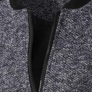 Casual Simple Style Stand Collar Zipper Splicing Jacket For Men -