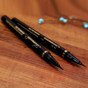 Stylish Black Waterproof Smudge-Proof Soft Ultra Fine Liquid Eyeliner Pencil -