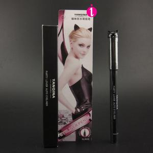 Stylish Black Waterproof Smudge-Proof Ultra Fine Auto Liquid Eyeliner Pencil -