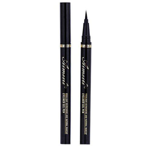 Unique Stylish Black Waterproof Smudge-Proof Soft Ultra Fine Liquid Eyeliner Pencil