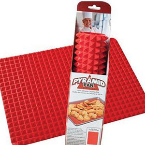 Multi-Fonction Red Square Silicone BBQ Grill -