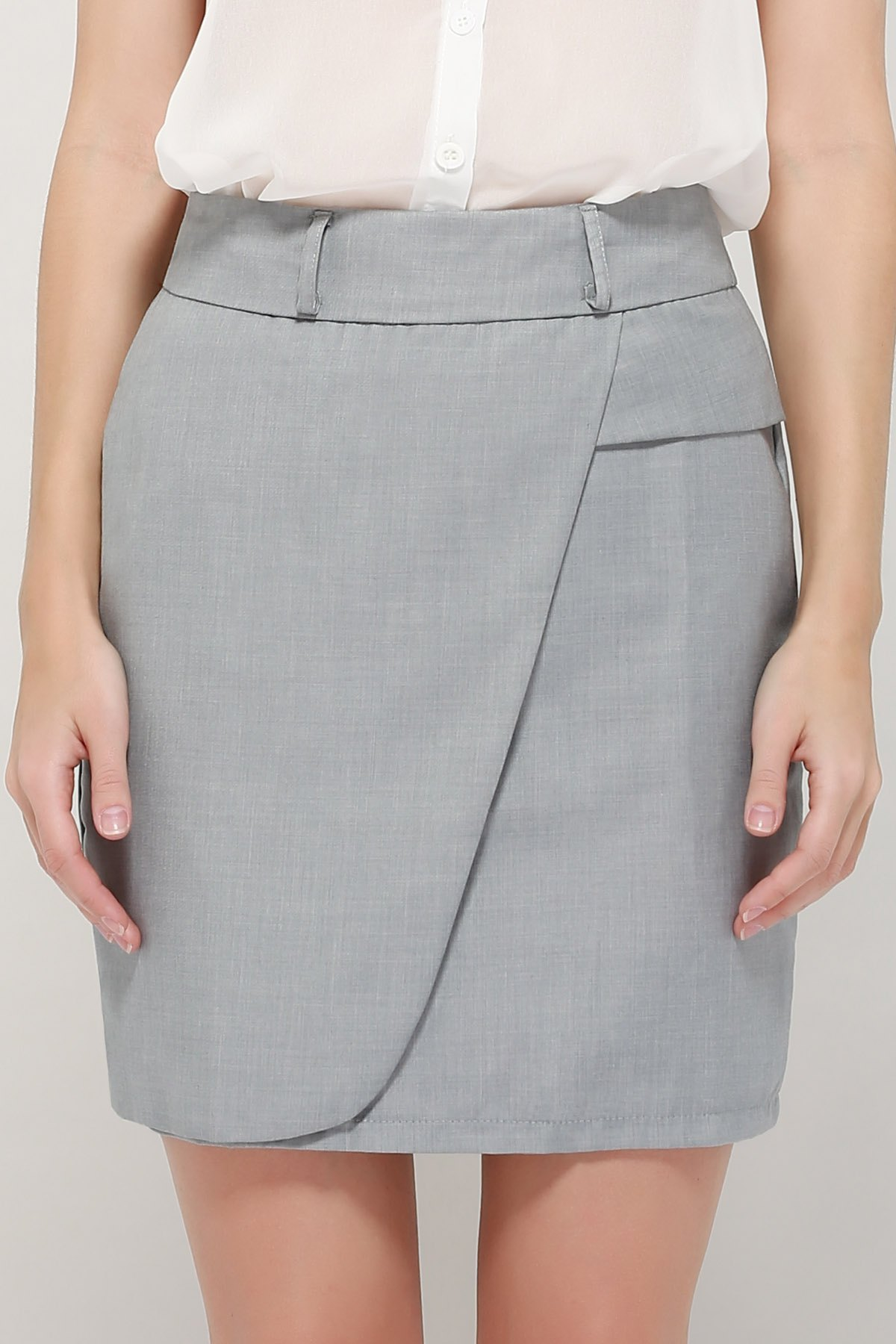 Latest Graceful OL Style Women's Pencil Skirt(With Belt)