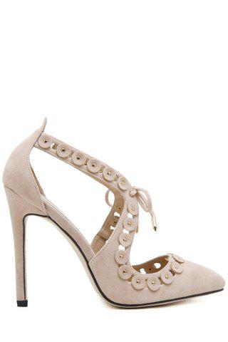 Buy online Pointed Toe Design Pumps For Women