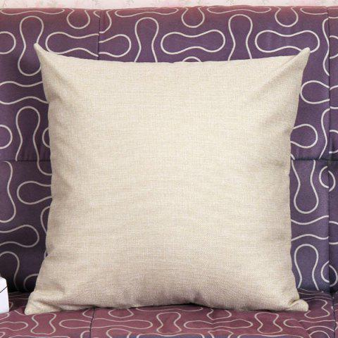 Trendy Lovely Kitten Pattern Square Shape Pillow Case (Without Pillow Inner) - COLORMIX  Mobile