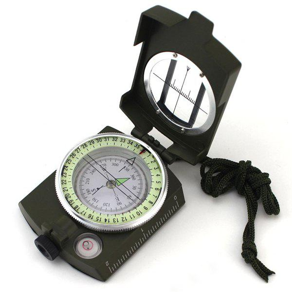 Affordable Stylish Outdoor Portable Noctilucous Flap Magnifier Alloy Compass