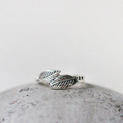 Sale Delicate Feather Cuff Ring For Women