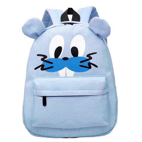Cartoon Imprimer mignon et Canvas Bag Design School For Children