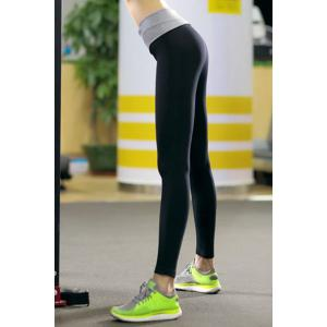 Active Elastic Waist High Stretchy Slimming Women's Yoga Pants -