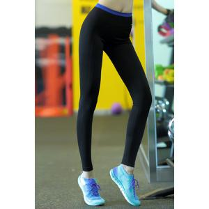 Active High-Waisted Stretchy Spliced Women's Yoga Pants