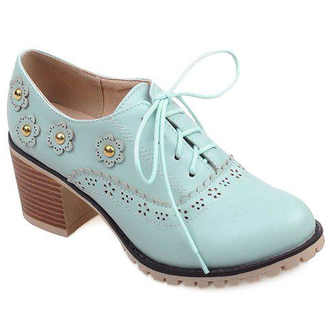 Best Fashionable Flower and Lace-Up Design Pumps For Women