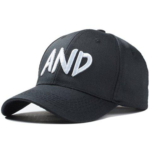 Cheap Stylish Majuscule English Word Embroidery Baseball Cap For Men