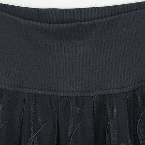 Stylish Embroidered Mini Skirt For Women -
