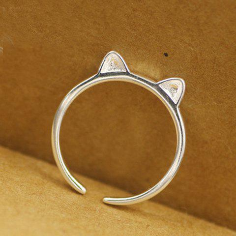 Cheap Cat Ear Shape Cuff Ring