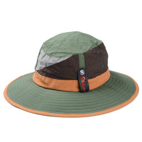 Shops Stylish Color Block Sun Hat For Men and Women