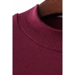 Stylish Round Neck Short Sleeve Thread Solid Color Women's T-Shirt -