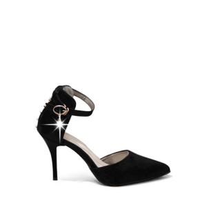 Elegant Tow-Piece and Rivet Design Pumps For Women
